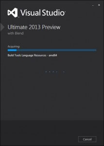 Visual Studio 2013 Preview