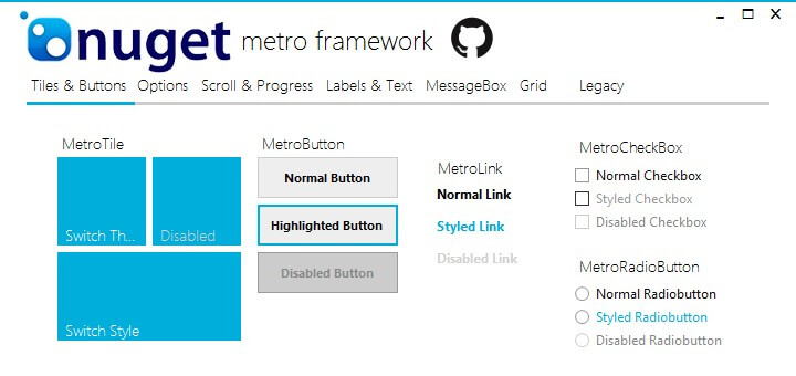 how-to-use-metroframework