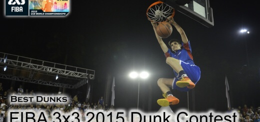 Best Dunks 2015 FIBA 3x3 Dunk Contest Qualifiers