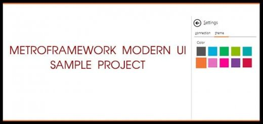 metroframework-modern-ui-sample-project