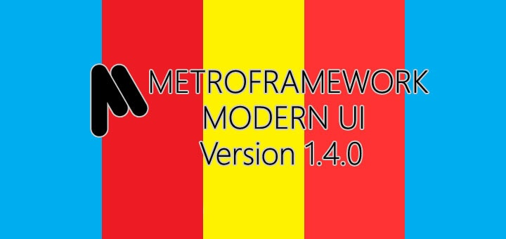Download MetroFramework Version 1.4.0