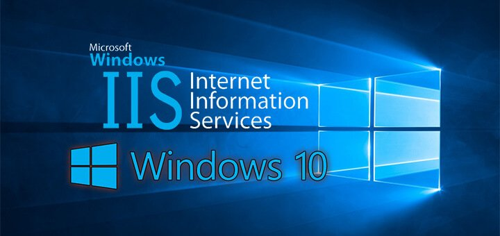 how to install iis in windows 10