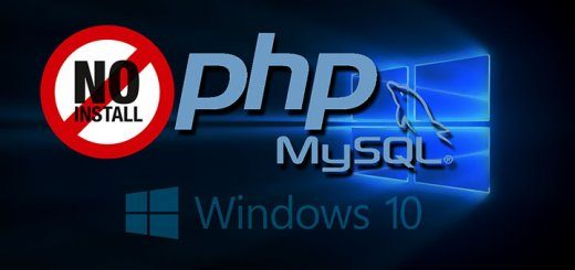 no install php and mysql