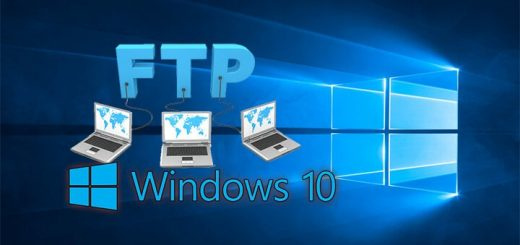 Local FTP Server in Windows 10