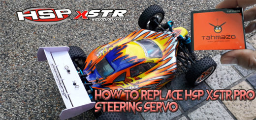 How To Replace HSP XSTR PRO Steering Servo